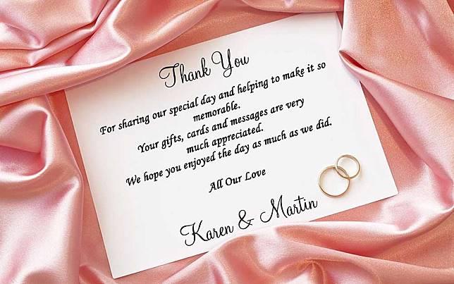 After Wedding Thank You Messages: Setelah Pesta Pernikahan Selesai, Segera Lakukan 7 Hal Ini