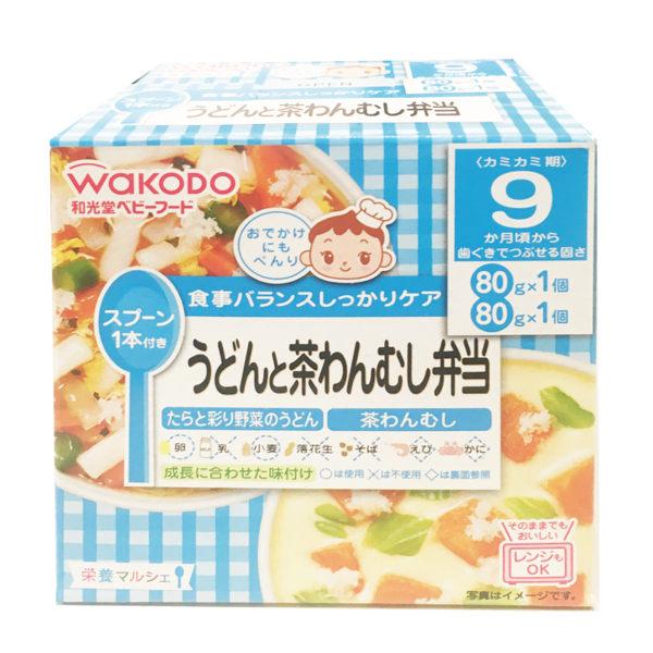日本原裝進口和光堂WAKODO 嬰兒即食食品 西式鮭魚白醬便當