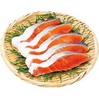 〈宮城県石巻産〉皮まで美味しい金華銀鮭(甘口) 3切