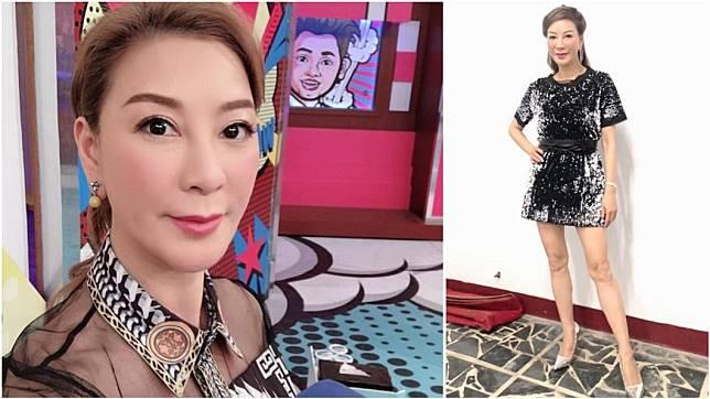 女星楊繡會在演藝圈闖蕩多年,時常上節目分享自己過去奮鬥的經歷。(圖/翻攝自楊繡惠臉書)