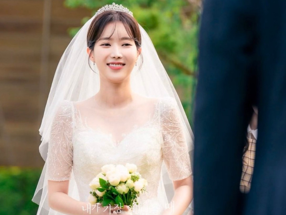 林秀香《當我最漂亮的時候》婚紗