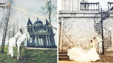 1秒到歐洲!苗栗銅鑼「愛麗絲的天空攝影基地」~ 超夢幻的婚攝、外拍聖地,奢華登場!