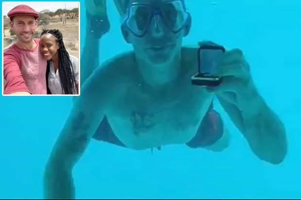 Tragis, Pria AS Tewas Setelah Melamar Kekasihnya di Bawah Air