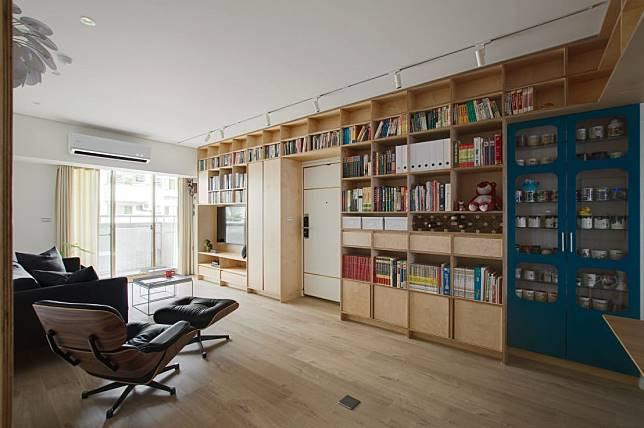 量身打造的藏書櫃