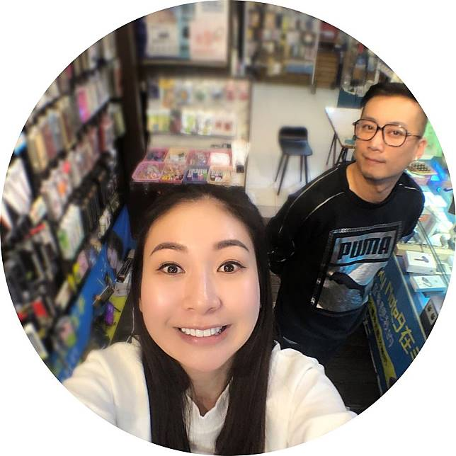 莊思敏去年9月認戀台灣珍珠奶茶店的老闆Brian。