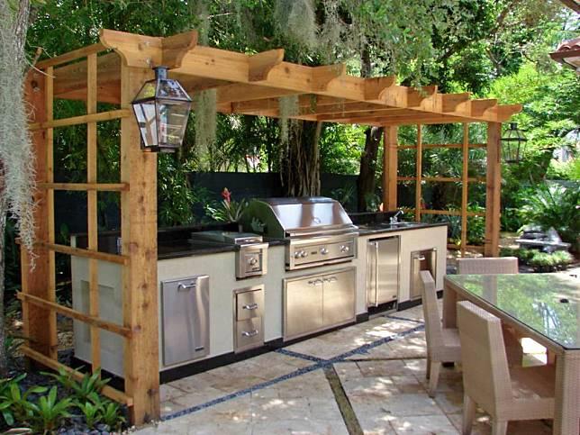 7 Desain Dapur Outdoor Minimalis yang Dapat Diterapkan di Rumah
