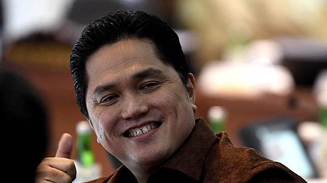 State-owned Enterprises (SOE) Minister Erick Thohir. ANTARA/Puspa Perwitasari