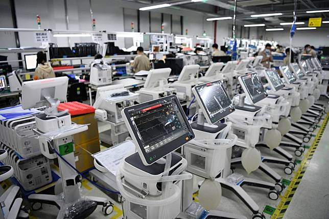 Chinese ventilator makers desperate for parts as global demand for machines hits 1 million
