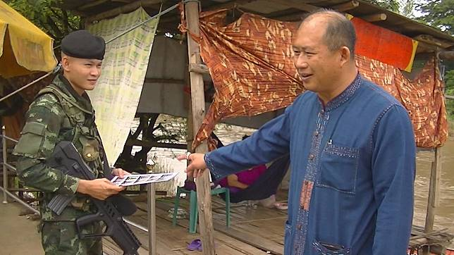 นอภ.แม่สอดแจกภาพนักโทษพม่า หนีมาที่ชายแดนแล้ว พม่ารวบได้ 1 คน อีกหนึ่งคาดเข้าไทย