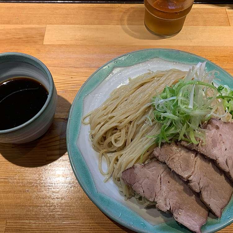 新宿区周辺で多くのユーザーに人気が高いつけ麺ラーメン巖哲の肉醤油の写真