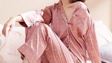 女生法式質感睡衣推薦!6款絲質睡衣、純棉睡衣、bra睡衣絕對必收!舒適又性感~