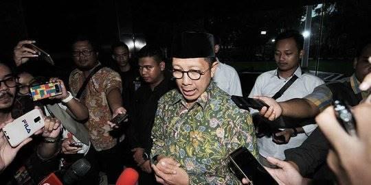 Menteri Agama Datangi Kantor Kemenag usai Disegel KPK. ©2019 Merdeka.com/Iqbal S Nugroho
