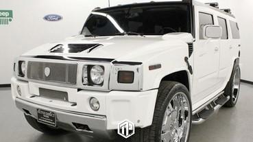 LeBron James 首部汽車 Hummer H2 將被拍賣!