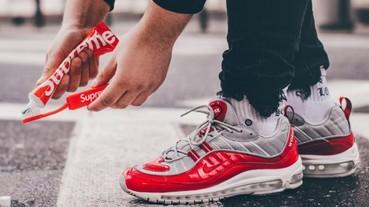 「無痛入荷」不是夢!Nike 再度推出「 Supreme X Nike 」Air Max 98? 網友:根本買到賺到⋯⋯