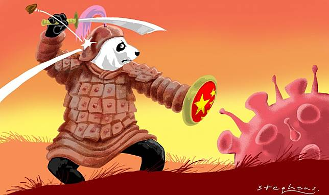China bashing detracts from the country's epic and unprecedented battle against the coronavirus