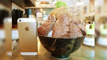 [大食挑戰] 每日限定5份的特盛牛排丼!