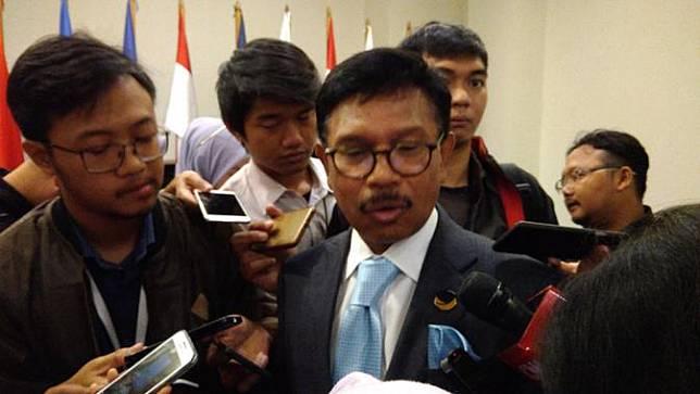 Sekretaris Jenderal Partai Nasdem Jhonny G Plate