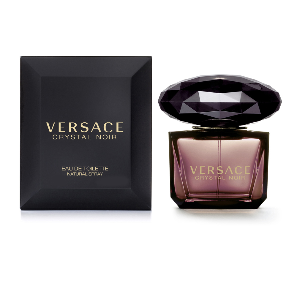 Versace Crystal Noir 凡賽斯星夜水晶女性淡香水 90ml【5295 我愛購物】