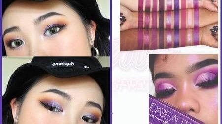 讓你美到沒朋友!駕馭迷幻搶眼『紫色眼影』跟著這樣畫就沒錯!
