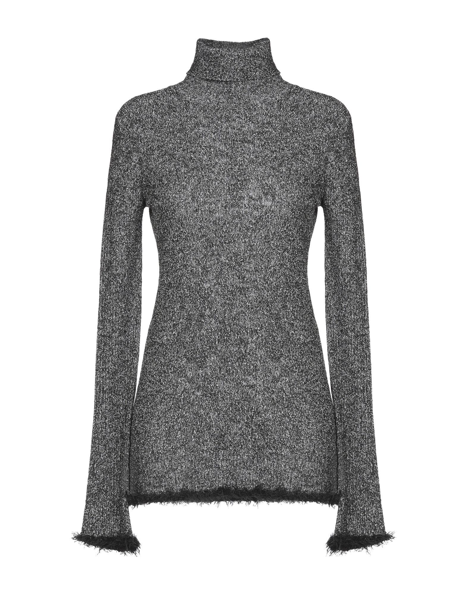 knitted, mélange, fringe, two-tone, turtleneck, lightweight sweater, long sleeves, no pockets.