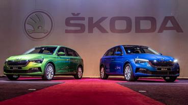 歐洲掀背新標竿 Skoda Scala 在台發表