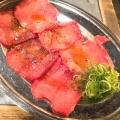 塩タン - 実際訪問したユーザーが直接撮影して投稿した湯里焼肉杉野商店の写真のメニュー情報