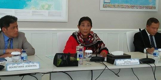 Menteri Susi Pudjiastuti. ©2017 merdeka.com/anggun situmorang