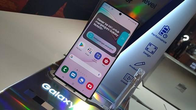 Samsung Galaxy Note 10. [Suara.com/Tivan Rahmat]