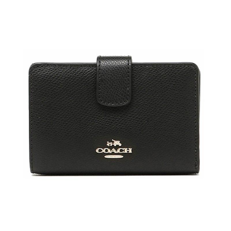 COACH  錢包女式新款短款/中長款錢包折疊拉鏈錢夾 F53436