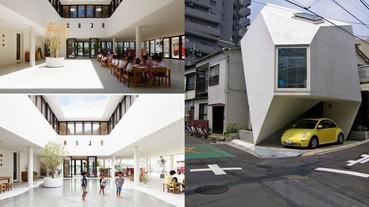 台灣街景完全看不到?日本東京最酷的現代建築設計 節省空間和能源到極致!