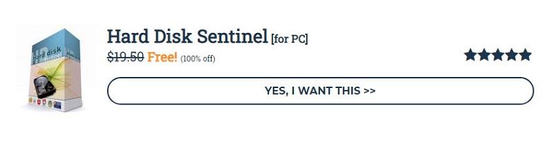 硬碟健檢監控軟體 「 Hard Disk Sentinel 」5.40版 限時免費提供下載