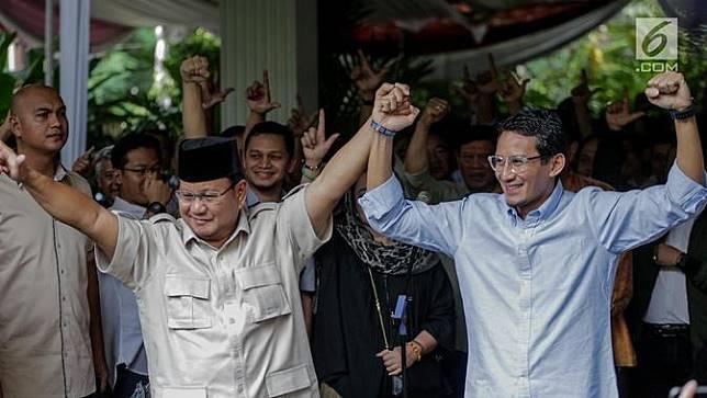 Prabowo Sikapi Penetapan Hasil Pemilu KPU