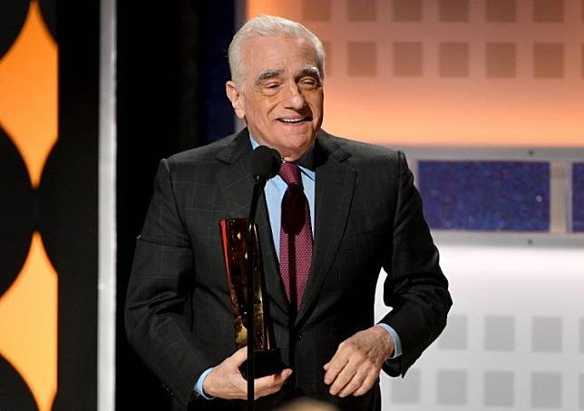 Martin Scorsese accepts Best Director for 'The Irishman' onstage during AARP The Magazine's 19th Annual Movies For Grownups Awards at Beverly Wilshire, A Four Seasons Hotel on January 11, 2020 in Beverly Hills, California.