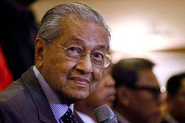 Malaysia's Prime Minister Mahathir Mohamad speaks during a news conference in Putrajaya, Malaysia, July 15, 2019.