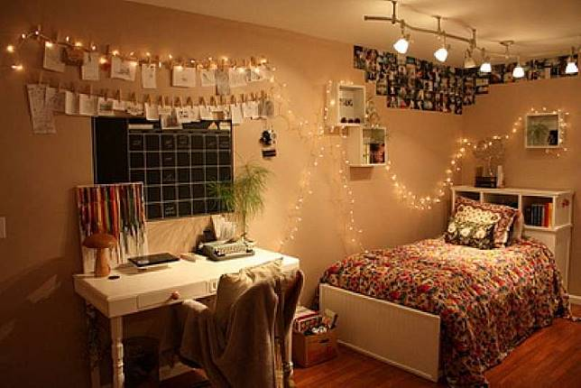 Monokrom Sampai Pastel Ini Inspirasi Dekorasi Kamar Tidur Ala Tumblr Yukepo Com Line Today