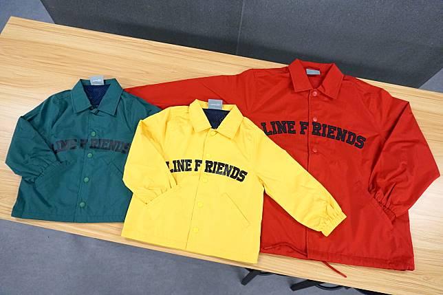 又係大人(右:699)同小朋友(中、左:599)都可以穿上的Brown Brown外套。