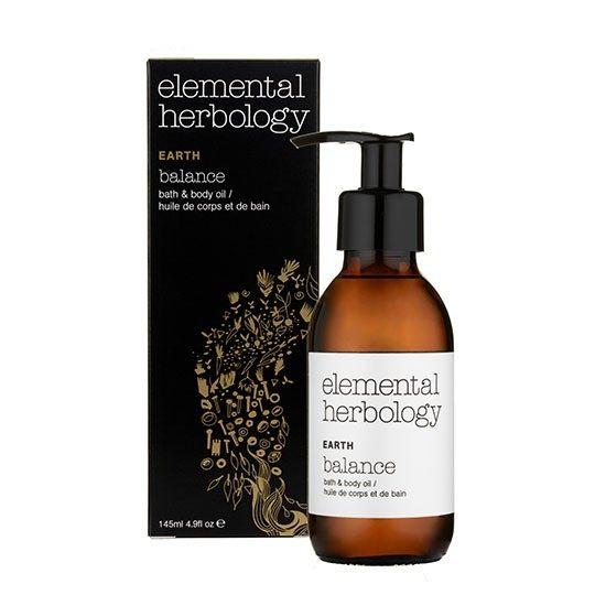 【elemental herbology 】土-平衡沐浴&身體按摩油145ml
