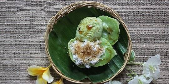 Resep Kue Laklak Jajanan Sederhana Dari Tepung Beras Khas Bali Merdeka Com Line Today