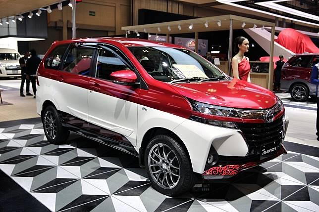 Toyota Avanza lebih fresh dengan dual tone