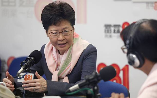 Hong Kong leader Carrie Lam open to the possibility of overhauling cabinet when protest crisis dies down
