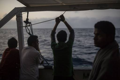 AFP/File/OLMO CALVO ผู้อพยพเดินทางออกสู่ทะเลเมดิเตอร์เรเนียนเพื่อสร้างชีวิตใหม่ที่ยุโรป