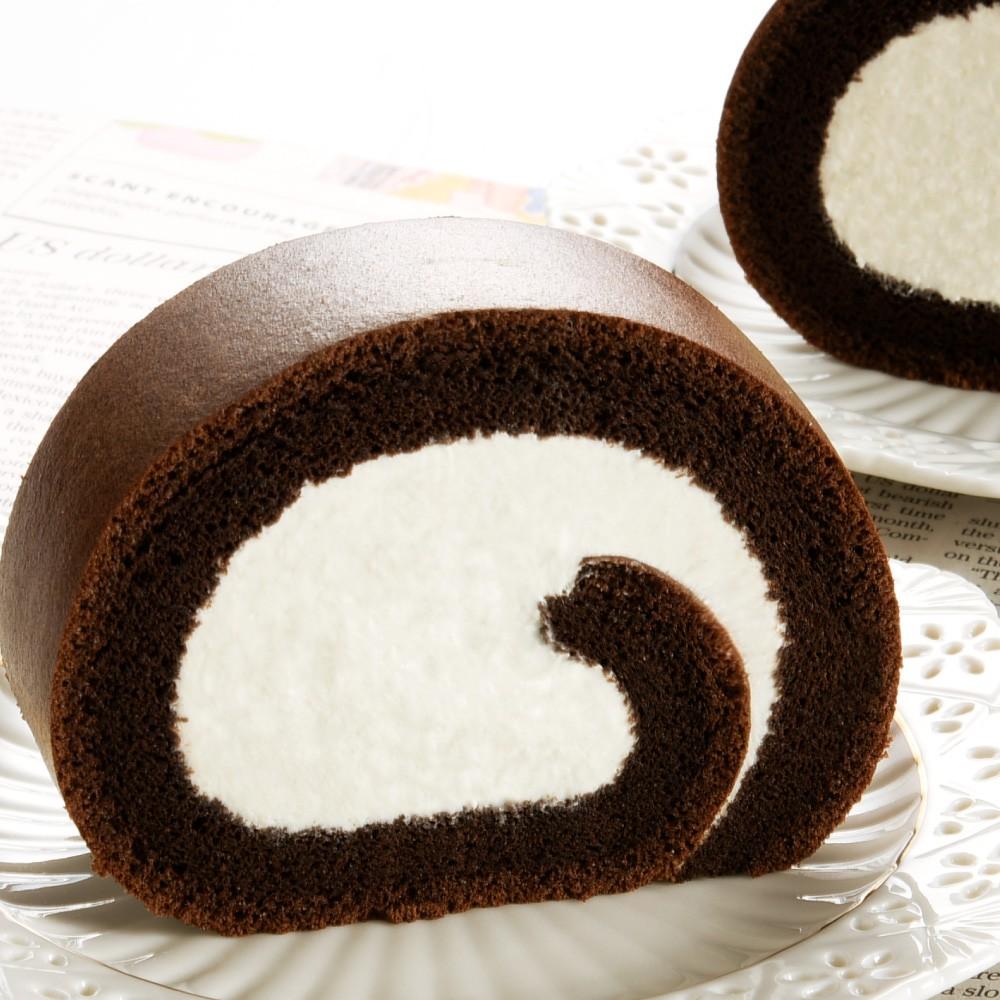 品名:亞尼克生乳捲-特黑巧克力 內容物:北海道奶霜/特黑泡芙蛋糕 葷素:蛋奶素 規格:1條/盒 商品尺寸:18×8.5×6.5公分( ±0.5cm) 淨重:320g±10g 保存期限:四天(宅配扣除一