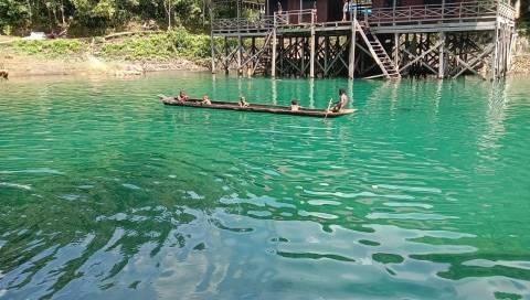 Melihat Keindahan Wisata Danau Uter di Kabupaten Maybrat, Papua Barat (3)