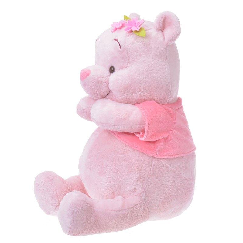 【迪士尼限定櫻花維尼L號坐姿娃娃】迪士尼 小熊維尼 pooh 櫻花 坐姿娃娃 絨毛娃娃 布偶 L號坐姿 日本限定