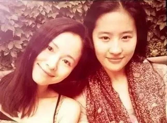 江一燕與劉亦菲是北影同學。