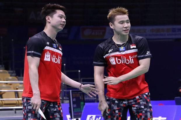 Mental Juara Marcus/Kevin Menangi Drama Menegangkan Ke Semifinal