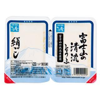 〈さとの雪〉富士山の清流とうふ (絹ごし・木綿) 200g×2