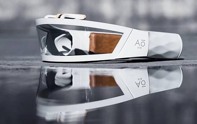 Hi-Tech口罩:AO Air Atmos Faceware早前於美國CES發布。(互聯網)