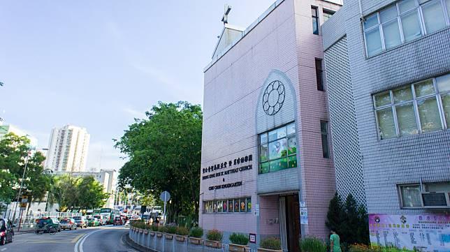元朗聖馬提亞堂肖珍幼稚園。網上圖片