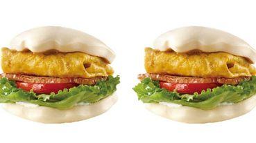 摩斯漢堡早餐新選擇,超飽足系「刈包夾厚培根福堡」還加花生醬,同步推出罪惡版肉醬起司薯條!